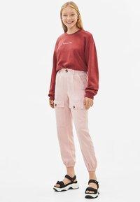 Bershka - Sweatshirt - red - 1