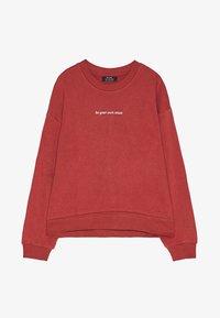 Bershka - Sweatshirt - red - 5