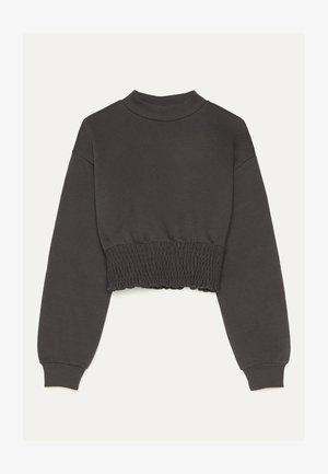GESMOKTER PULLOVER 01726130 - Sweatshirt - dark grey