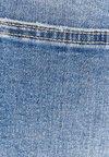 Bershka - MIT TIEFEM BUND - Jeans Skinny Fit - blue