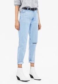 Bershka - Jeans Relaxed Fit - blue denim - 0