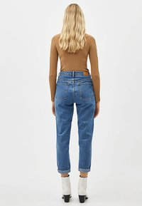 Bershka - Jean boyfriend - light blue - 5
