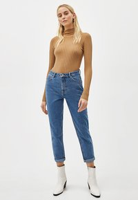 Bershka - Jean boyfriend - light blue - 1