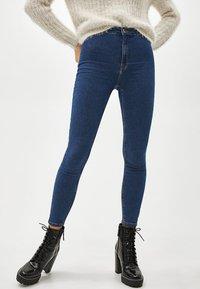 Bershka - Jeans Skinny Fit - blue - 3