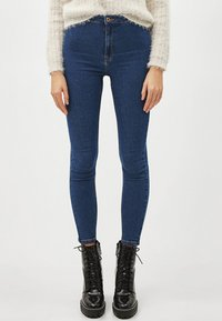 Bershka - Jeans Skinny Fit - blue - 0