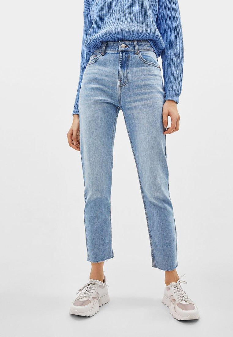 Bershka - Jeans slim fit - light blue