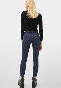 Bershka - Jeans Skinny Fit - dark blue - 2