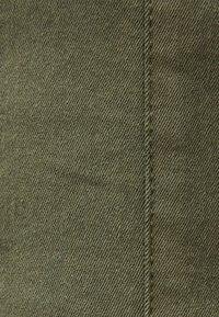 Bershka - Farkkuleggingsit - khaki - 4