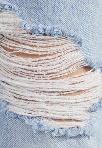Bershka - Relaxed fit jeans - blue denim - 4