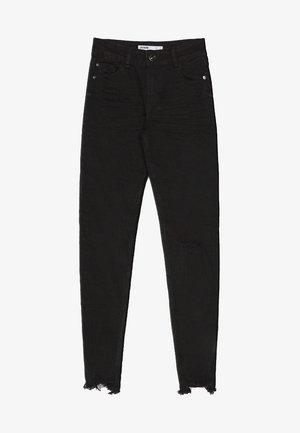 LOW WAIST - Jeans Skinny Fit - black