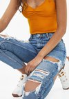 Bershka - Jeans Straight Leg - blue