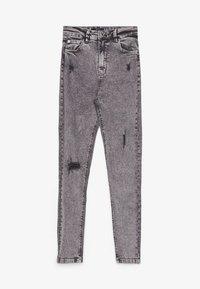 Bershka - Jeans Skinny Fit - silver - 4