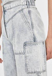 Bershka - Jeans a sigaretta - gray - 3
