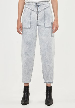 Jeans a sigaretta - gray
