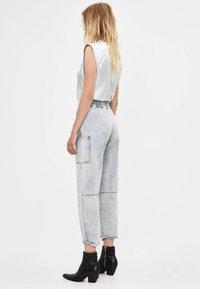 Bershka - Jeans a sigaretta - gray - 2