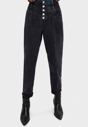 Jeans baggy - black
