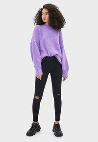 Bershka - Jeans Skinny Fit - black - 1