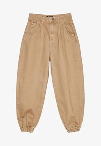 Bershka - Jeans Tapered Fit - beige - 5