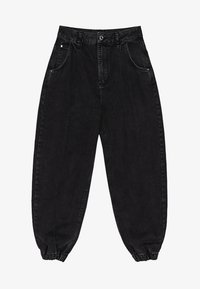 Bershka - Jeans Tapered Fit - black - 5