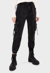 Bershka - Jeans fuselé - black - 0