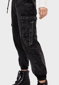 Bershka - Jeans fuselé - black - 3
