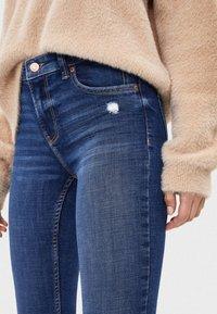 Bershka - SKINNY-JEANS MIT HOHEM BUND 00001211 - Jeans Skinny - light blue - 3