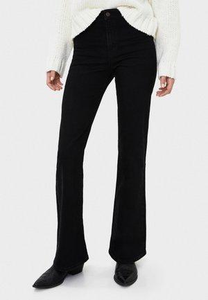 JEANS MIT SCHLAG 00003936 - Flared jeans - black