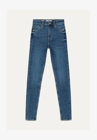 Bershka - Jeans Skinny Fit - light blue - 4