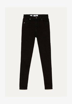 SKINNY-FIT-JEANS MIT HOHEM BUND 00004534 - Jeans Skinny Fit - black