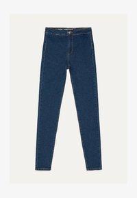 Bershka - JEGGINGS MIT HOHEM BUND 00154074 - Jeans Skinny Fit - dark blue - 2