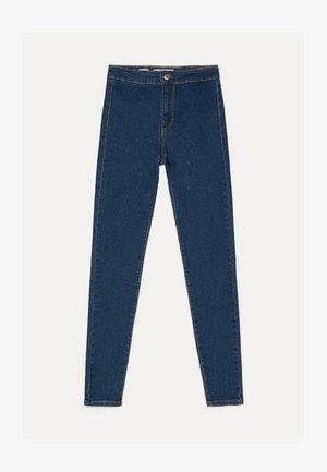 JEGGINGS MIT HOHEM BUND 00154074 - Jeans Skinny Fit - dark blue