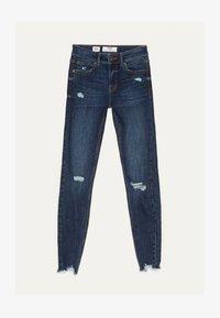 Bershka - Jeans Skinny - dark blue - 5