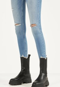 Bershka - Jeans Skinny Fit - blue denim - 3