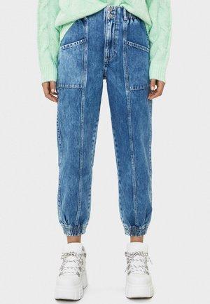 JEANS IM JOGGERSTIL 00159179 - Jeans Tapered Fit - blue