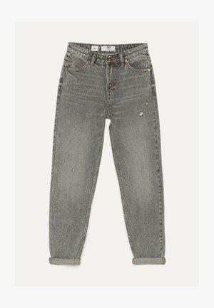 MOM - Straight leg -farkut - metallic grey