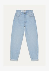 Bershka - MOM - Straight leg jeans - blue denim - 5