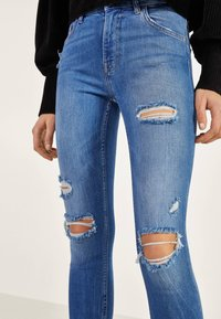 Bershka - Jeans Skinny - light blue - 3