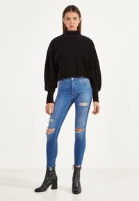Bershka - Jeans Skinny - light blue - 1