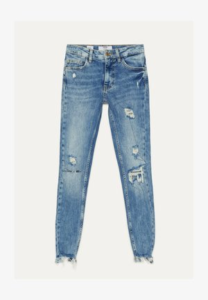 Jeans Skinny Fit - blue-black denim