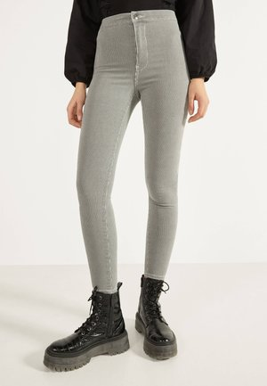 JEGGINGS MIT HOHEM BUND 00194777 - Jeans Skinny Fit - dark grey
