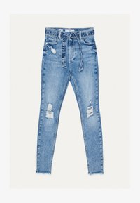 Bershka - Jeans Skinny - blue denim - 4