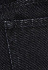 Bershka - Jeans Shorts - black - 5