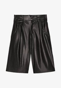 Bershka - Shortsit - black - 5