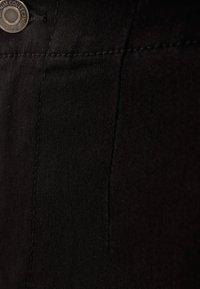 Bershka - Denim shorts - black - 4