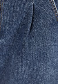 Bershka - MOM - Denim shorts - light blue - 4