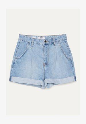 MOM - Shorts di jeans - blue