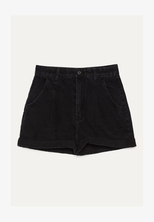 MOM - Short en jean - black