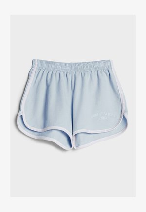 PATENTMUSTER UND KONTRASTEN  - Shorts - light blue