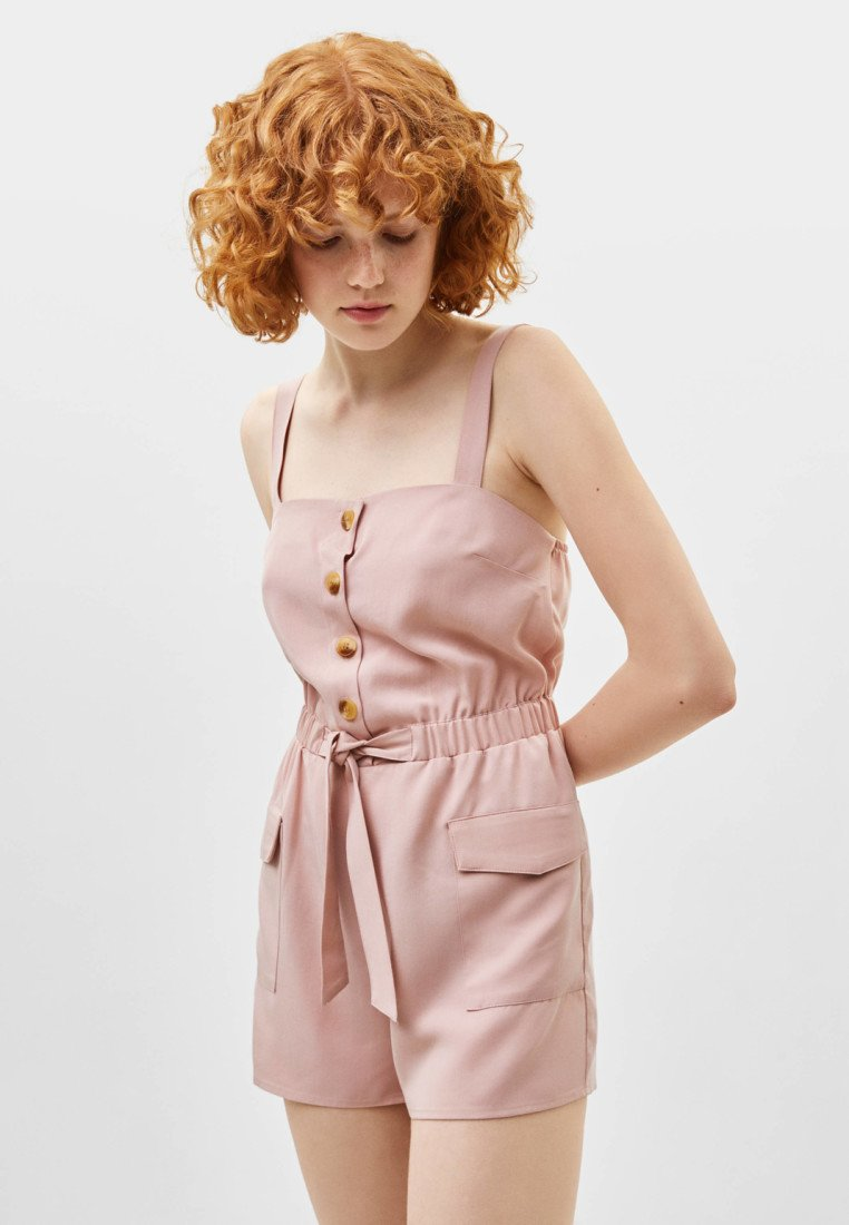 Bershka - JOIN LIFE - Jumpsuit - rose