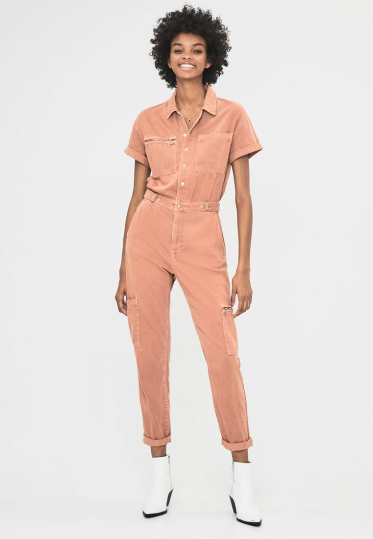 Bershka - Jumpsuit - brown